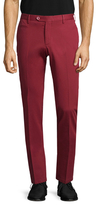 Isaia Solid Welted Trousers