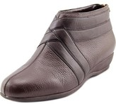 Trotters Latch Round Toe Synthetic Bootie.