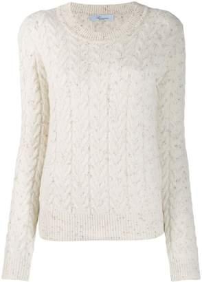 Blumarine cable knit jumper