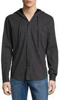 Hyden Yoo Flannel Hooded Shirt
