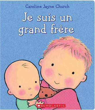 Scholastic Je suis un grand frere Book (French Version)