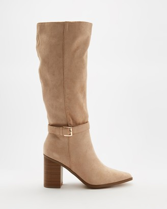 Spurr Women's Brown Knee-High Boots - Renver Boots - Size 5 at The Iconic