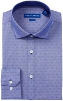 Vince Camuto Twill Trim Fit Dress Shirt