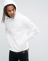 Asos Hoodie In Off White