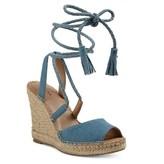 Merona Women's Maren Lace Up Wedge Espadrille Sandals