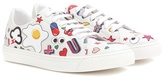 Anya Hindmarch All Over Wink leather sneakers