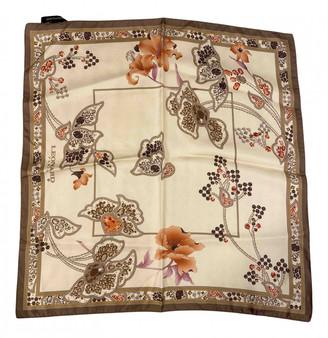 Leonard Beige Silk Silk handkerchief