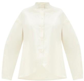 Jil Sander Nicoleta Stand-collar Cotton Shirt - Ivory