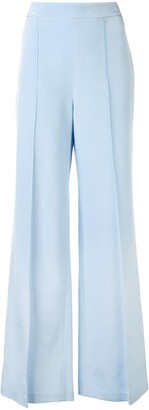 macgraw Peacock flared trousers