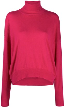 Laneus Cashmere Roll Neck Jumper