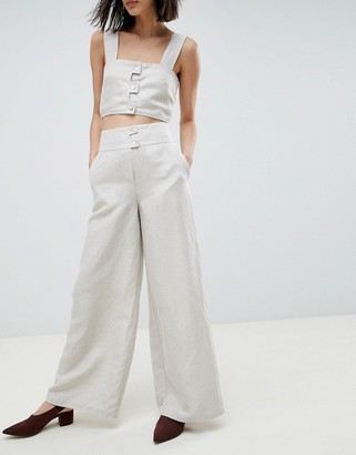 ASOS Linen Two-piece Pants