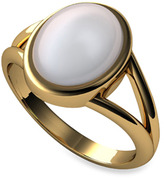 Bed Bath & Beyond The Official Twilight Jewelry Collection Bella's Moonstone Gold-Plated Sterling or 14K Gold Ring