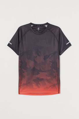 H&M Regular Fit Running Shirt - Orange