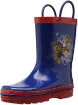 Josmo Unisex Children's O-CH29900C Paw Patrol Rain Boot Size 9/10 M