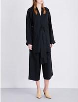 Sharon Wauchob Fringe-detail wool-blend top
