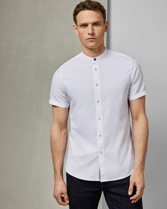 Ted Baker Grandad Collar Shirt