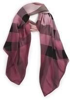 Burberry Women's Ombre Check Silk Scarf