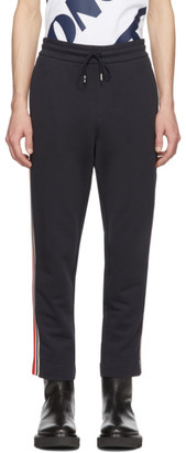 Moncler Navy Side Panel Lounge Pants