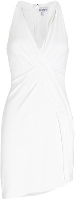Cushnie Sleeveless Crepe Mini Dress