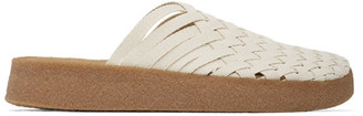Malibu Sandals White and Tan Zuma Sandals
