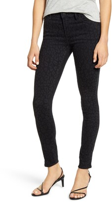Articles of Society Sarah Dark Leopard Skinny Jeans