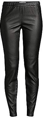 MICHAEL Michael Kors Women's Faux Leather Leggings