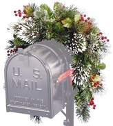 Three Posts Pine Mailbox Swag