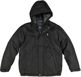 U.S. Polo Assn. Black Hooded Puffer Coat