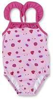 Sterntaler Baby Girls' Badeanzug Swimsuit,18-24 Months