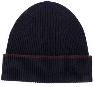 Eleventy Cashmere Beanie Hat