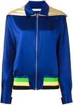J.W.Anderson metallic hood jacket - women - Silk/Acrylic/Polyamide/Wool - 8