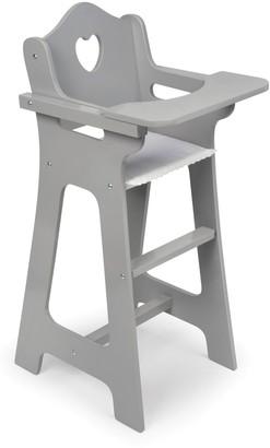 Badger Basket Gray Doll High Chair