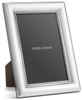 Georg Jensen Beaded Sterling Silver Photo Frame