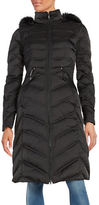 Laundry by Shelli Segal Faux Fur-Trimmed Puffer Down Coat