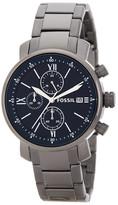 Fossil Men&s Rhett Chronograph Bracelet Watch