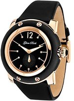 Glam Rock Women's GR10045 Miami Collection Diamond Accented Black Techno Silk Watch