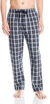 Nautica Men's Plaid Woven Sleep Pant with Inside Knit Waistband