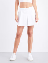 Ivy Park Tennis stretch-jersey skirt