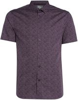 Linea Gibson Dot Floral Printed Shirt