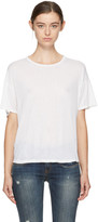 R 13 White Classic Oversized T-shirt