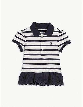 Ralph Lauren Striped cotton polo dress 9-24 months