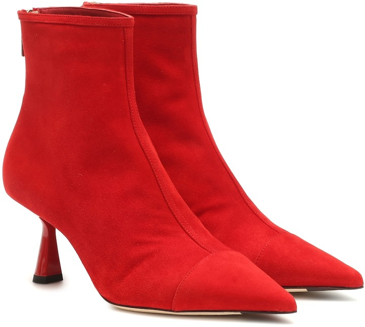 bbd46a05cb17b Jimmy Choo Red Women's Boots - ShopStyle