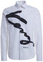Kenzo Men's F665ch2141ga01 Cotton Shirt