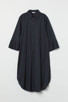 Thumbnail for your product : H&M Trumpet-sleeved shirt dress