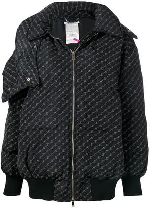 Stella McCartney Optical Monogram Quilted Jacket