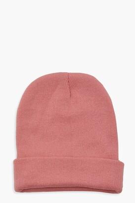 boohoo Basic Beanie Hat