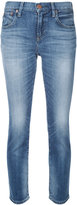 Red Card cropped skinny jeans - women - Cotton/Polyurethane - 22