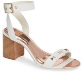 Ted Baker Biah Leather Ankle Strap Sandal