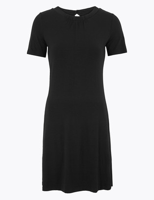 Marks and Spencer Petite Jersey Knee Length Swing Dress