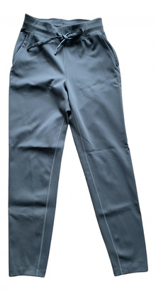Lululemon Grey Polyester Trousers